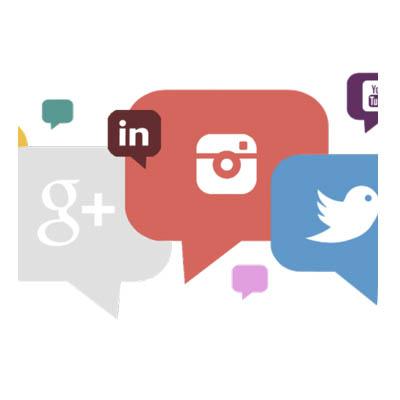 Redirecciones a tus redes sociales y formas de contacto:
