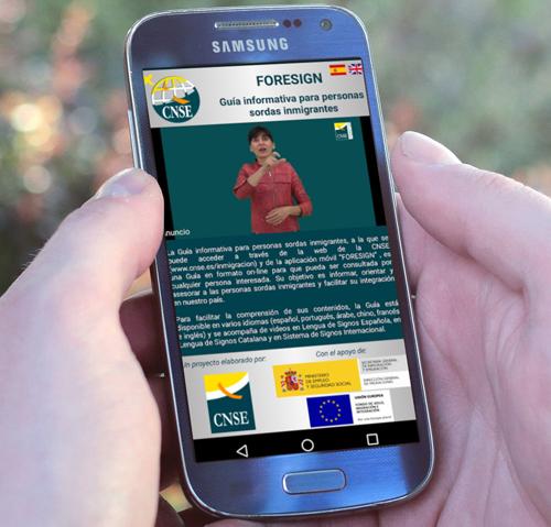 FORESIGN - Guía informativa para personas sordas inmigrantes