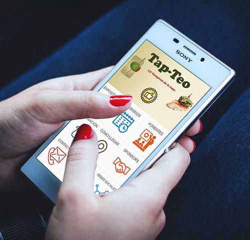 aplicación móvil para ferias, eventos y congresos