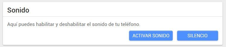 android lost sonido