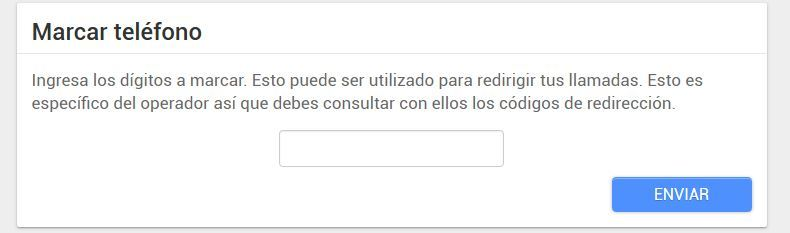 android lost texto voz
