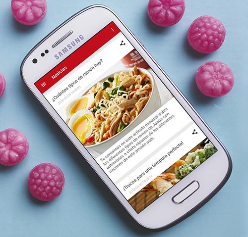APP móvil de noticias con Wordpress y Joomla