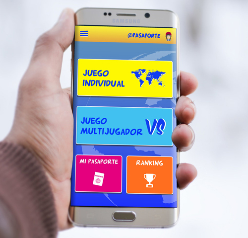 Pasaporte 0,0 app android nativa